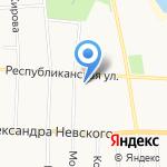 Строящиеся объекты на карте Саранска