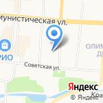 Главный федеральный инспектор по Республике Мордовия на карте Саранска