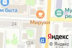 Схема проезда до компании Мордовская республиканская организация профсоюза работников текстильной и легкой промышленности в Саранске
