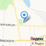 Любимый на карте Саранска