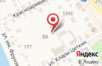 Схема проезда до компании ВОЕННЫЙ КОМИССАРИАТ ЛЕНИНСКОГО РАЙОНА в Ленинске