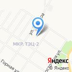 Детская школа искусств №3 на карте Саранска
