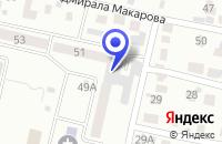 Схема проезда до компании ПКП КРИСТАЛЛ-19 в Заречном