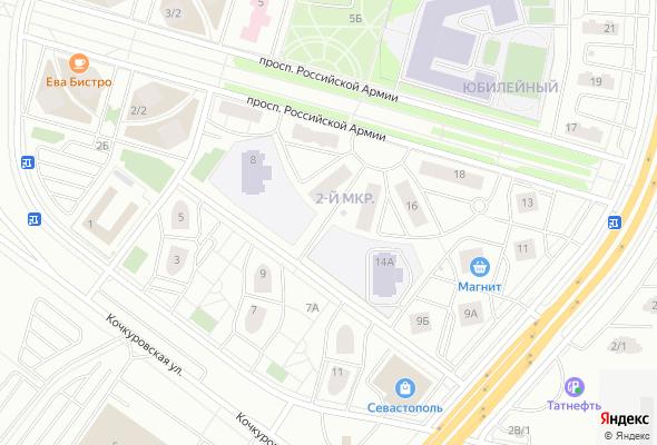 жилой комплекс по проспекту Российской Армии (Юбилейный)
