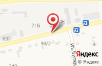 Схема проезда до компании ГИБДД ЛЕНИНСКОГО РАЙОНА в Ленинске