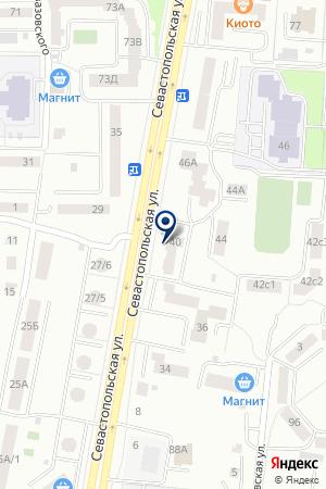 Супрема на карте Саранска