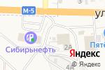 Схема проезда до компании Заря в Чемодановке