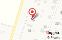 Схема проезда до компании Аленушка в Чемодановке