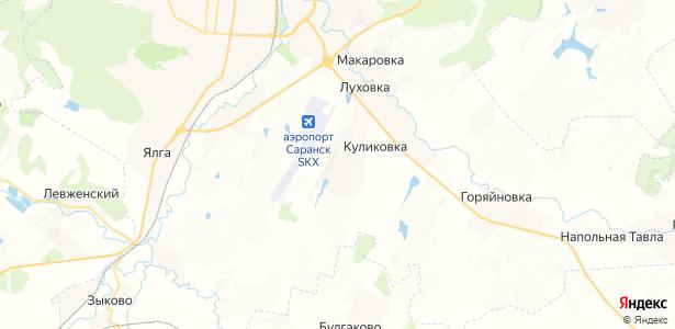 Куликовка на карте