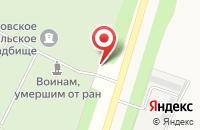 Схема проезда до компании Чемодановское сельское кладбище в Чемодановке
