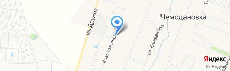 Детский сад на карте Чемодановки