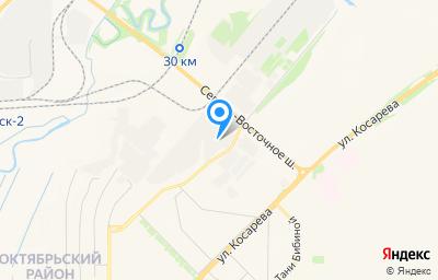 Местоположение на карте пункта техосмотра по адресу г Саранск, ш Северо-восточное, д 12