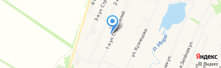 Березка на карте Чемодановки