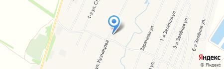 Продуктовый магазин на ул. Кузнецова на карте Чемодановки