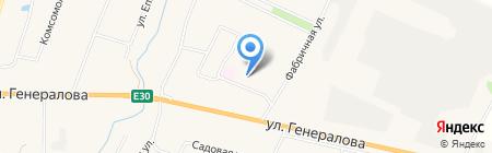 КАПСТРОЙСЕРВИС на карте Чемодановки