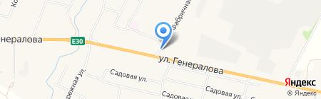 Зимняя вишня на карте Чемодановки
