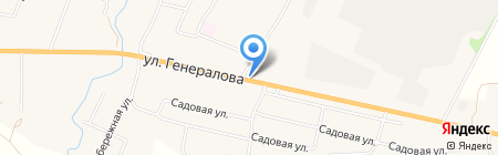 Шиномонтажная мастерская на карте Чемодановки