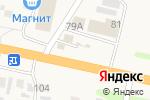 Схема проезда до компании Шиномонтажная мастерская в Чемодановке