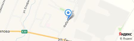 Киоск фастфудной продукции на карте Чемодановки