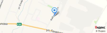 Киоск по продаже хлебобулочных изделий на карте Чемодановки