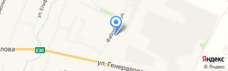 Пятачок на карте Чемодановки
