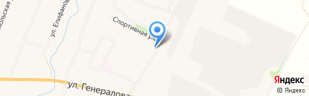 Почтовое отделение Чемодановка на карте Чемодановки