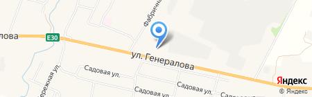 АЗС Лукойл на карте Чемодановки