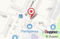 Схема проезда до компании Ритуал-центр в Чемодановке