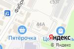 Схема проезда до компании Участковый пункт полиции в Чемодановке