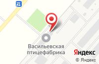 Схема проезда до компании Птицефабрика Васильевская в Васильевке