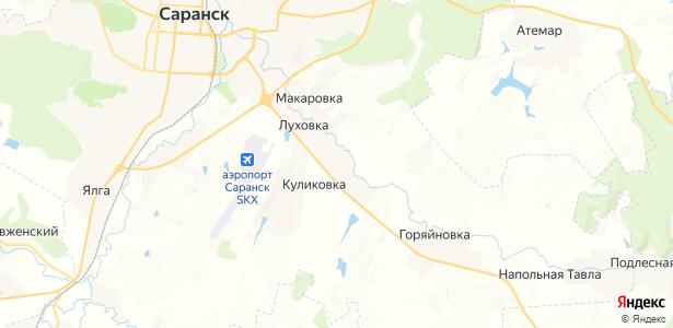 Луховка на карте