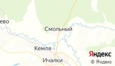 Отели города Смольный на карте