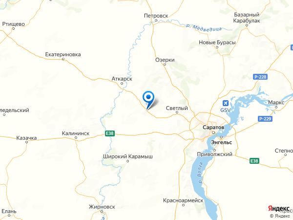 село Карякино на карте