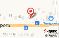 Схема проезда до компании Тент58 в Кижеватово