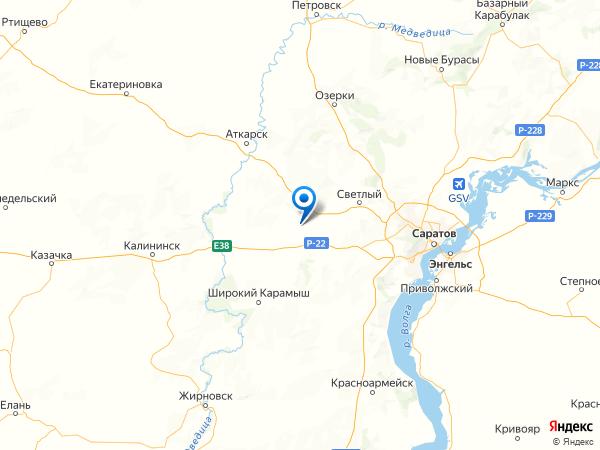 деревня Новая Тепловка на карте