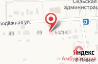 Схема проезда до компании Кижеватовская врачебная амбулатория в Кижеватово