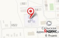 Схема проезда до компании Детский сад в Кижеватово