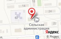 Схема проезда до компании Аптечный пункт в Кижеватово