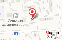 Схема проезда до компании Поволжский банк Сбербанка России в Кижеватово