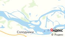 Отели города Каршевитое на карте