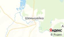 Отели города Шемышейка на карте