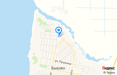 Местоположение на карте пункта техосмотра по адресу Волгоградская обл, рп Быково, ул Набережная, д 9/2