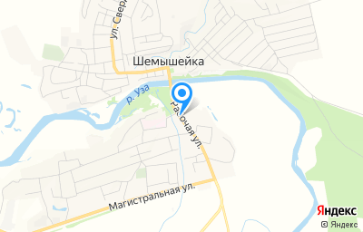 Местоположение на карте пункта техосмотра по адресу Пензенская обл, рп Шемышейка, ул Рабочая, д 2П