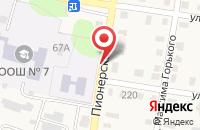 Схема проезда до компании Спутник в Петровске