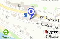 Схема проезда до компании МАГАЗИН АВТОЗАПЧАСТЕЙ ПТИУС в Камышине