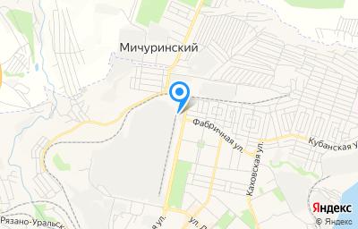 Местоположение на карте пункта техосмотра по адресу Волгоградская обл, г Камышин, ул Текстильная, д 23