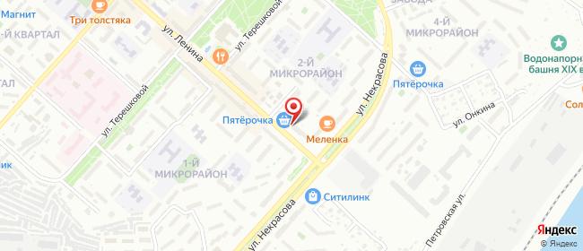 Карта расположения пункта доставки Билайн в городе Камышин