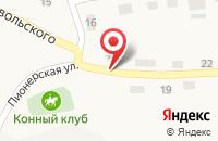 Схема проезда до компании ПТФ ВЕТЛУГА-ЛЕС в Воскресенском
