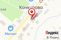 Схема проезда до компании Судебный участок мирового судьи Кочкуровского района в Кочкурово