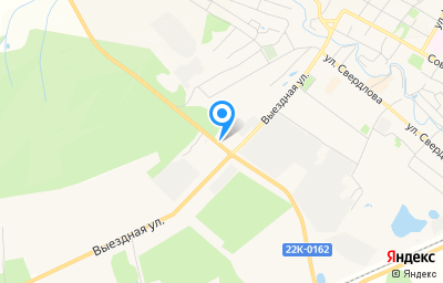 Местоположение на карте пункта техосмотра по адресу Нижегородская обл, г Сергач, ул Выездная, д 18А